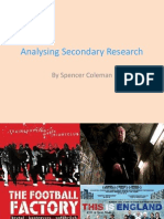 Analysing Secondary Research