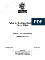 Rules for the Classification Naval Ships Part B - Hull and Stability - Chapter 8 Al 11 - NR 483.B2 DT R01 E_2011-11