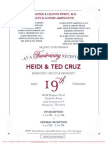 Fundraising Reception for Ted Cruz for President