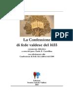 La Confessione di fede valdese del 1655