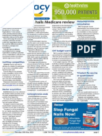 Pharmacy Daily for Thu 14 May 2015 - PSA hails Medicare review, CHF budget warnings, Qld pharmacist cautioned, Travel Specials and much  more