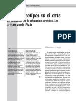 """Ciafardo, Mariel y Belinche, Daniel, """"Los estereotipos"""
