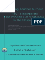 avoiding teacher burnout- incorporating mindfulness in the classroom   c knopf rall symposium 2015