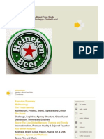 Brand Case Study Example Heineken - Extracts