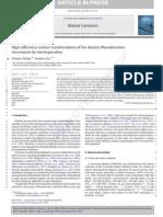Marine Genomics Volume Issue 2013 [Doi 10.1016%2Fj.margen.2013.10.003] Zhang, Chunye; Hu, Hanhua -- High-efficiency Nuclear Transformation of the Diatom Phaeodactylum Tricornutum by Electroporation