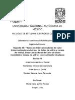 Reporte 6- Banco de Intercambiadores