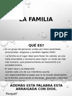 La Familia Presentacion