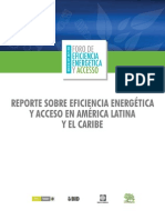 Reporte Sobre Eficiencia Energetica y Acceso en America Latina y El Caribe