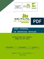 Plan Integral de Seguridad Escolar Escuela Francia Los Lagos (1) (1)