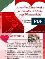 Atencinemocionalalafamiliadelniocondiscapacidad 100309093951 Phpapp02 Copia