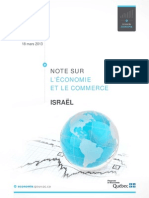 Note Economie Israel