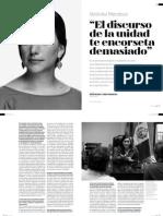 Verónika Mendoza - Revista Poder - Entrevista