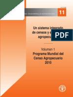 Programa Mundial Del Censo Agropecuario 2010