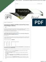 Arquitetura Ativa!_ Como Faço Para Configurar e PLOTAR No AutoCad_ Passo a Passo - Tutorial Plotagem e View Ports