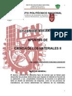 Ciencia de los materiales ESIME