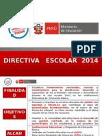 Directiva+inicio+del+a+¦o+escolar+2015