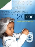 Relatório Casa de Ismael 2013
