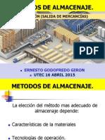 Metodos de Almacenaje