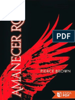 Amanecer Rojo - Pierce Brown