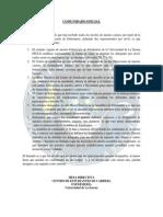 Comunidado Oficial Cec - REPRESENTANTES NIVELES
