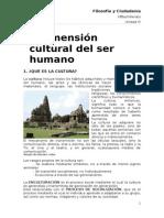 Unidad III La Dimensión Cultural Del Ser Humano