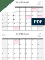 Calendar Amir ( April-Juni)