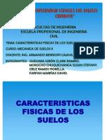 Expo Caracteristicas Fisicas de Los Suelos