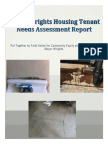 Mayor Wrights Housing -- Tenant Needs Assesment Report