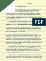 Zawarski Letter to Democrats