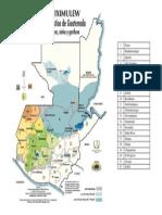 Mapa Linguistico de Guatemala