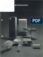 JBL Professional Series 1976 Catalog
