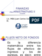 Finanzas Administrativas II Semana IX LIANE