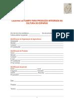 Caderno de Campo Aspargo