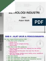 Bab 4 Metrologi Industri 4-2 (Alat Ukur Linier Tak Lgsung)