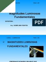 Clase 3 - Magnitudes Luminosas