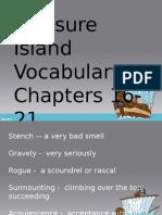 treasure island 16-21