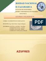 Azufres y Feldespatos