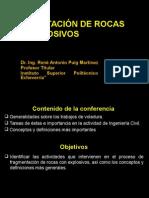 Conferencia Sobre Fragmentación de Rocas Con Explosivos