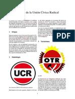 Escudo de La Unión Cívica Radical