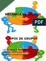 Mecánica de Grupos