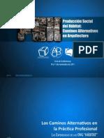 Caminos Alternativos en La Práctica Profesional- OnG Hábitat
