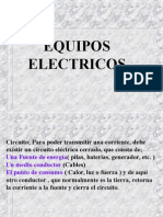 EQUIPOS ELECTRICOS