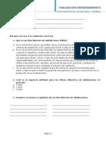 Cuestionario PMV