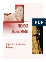 3. Project Life Cycle