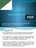 MICROFILTRAÇÃO