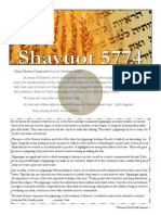 Shavuot 5774