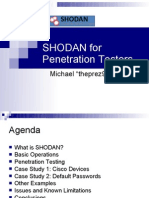 SHODAN for Penetration Testers