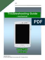 Sony Ericsson ST15 Xperia Mini Troubleshooting Guide - Mechanical Rev3