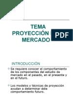 Capitulo 3 Proyeccion Mercado