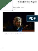 Karl Ove Knausgaard Travels Through North America - Part 1